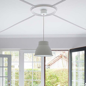 My ceiling is far too high and uninviting. What are the solutions?